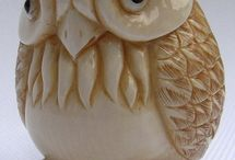netsuke owls