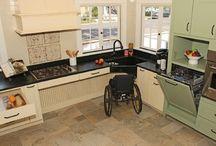 Wheelchair kitchen