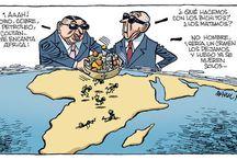 caricaturas inmigración