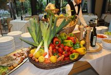 Buffet tipico toscano / Typical Tuscan dishes from Hotel Andreaneri