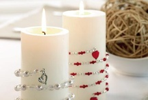 DIY: Candle decorating ideas / by Tina Gray