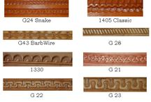Decorating leather