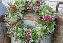 wreath / wreath#krans#autumnwreath#florist#flower#blomster#