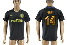Billig Atletico Madrid trøje / Køb Atletico Madrid trøje 2016/17 online,billige Atletico Madrid tøj,Atletico Madrid hjemmebanetrøje/udebanetrøje/3 trøje/målmandstrøje/langærmet fodboldtrøjer 16/17 tilbud med din egen u