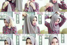 Tutorial hijab casual