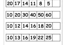 Grade 1/2 math