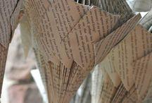 Paper book crafts