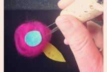 krafty kidz - needle felting