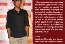 KASHISH 2016 Celebrities / 7th KASHISH Mumbai International Queer Film Festival,  South Asia's biggest LGBTQ film festival had a host of Celebrities attending the festival #KASHISH2016