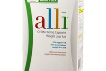 Alli Weight-Loss Aid, Orlistat 60mg Capsules Refill Pack