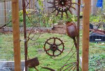 Rusty in the garden - Rust til hagen