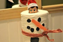 Elf on the Shelf ideas / Christmas fun