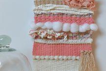 [jeu de fils] tissage laine