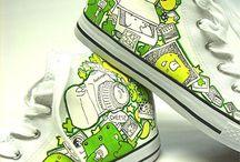 zdobione buty