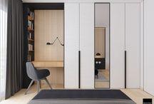 Bedroom/Study Niche