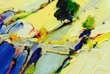 Art - Abstract Landscape / Art landscape abstract
