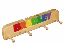 Personalized Name Stools / by Bestinbabies.com