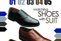 how to choose the shoes and the color of suit