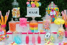 candy wonderland / Candy Stations for the Sweet Toothed Child