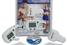 """FatTrack FITNESS TK Body Transformation Toolkit - Digital Body Fat caliper and more! / Each FatTrack FITNESS TK Includes:  Updated FatTrack® Fitness Digital Body Fat Caliper User Manual with instructions  Body Tracker Software MyoTape Body Tape Measure FREE copy of """"Improve Your Measuring Skill"""" with practical pointers for getting the best measurement readings and valuable information on ideal weight and muscle mass. / by AccuFitness"""