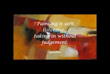 ART QUOTES / Things to think about when entering the studio....