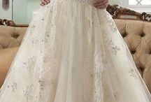 wedding dresses / by PurplePixieFairy