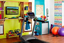 Workout room ideas  / by Victoria Frosch