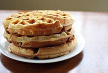 Breakfast Foods / Clearly I have a thing for waffles...