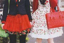 Japanese street fashion ゚ー゚