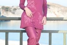Hijab swim and beach costume