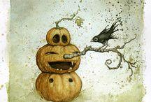 Halloweenske Umenie