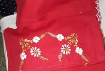 Beautiful handembroidery bedsheets / Buy this for 2300/ whatsapp on 7760828182