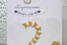 Ślubne / Zaproszenia, Podziękowania i Życzenia Ślubne