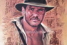 Indiana Jones Artwork / Awesome Indiana Jones artwork.