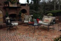 Christmas Patios & Decks / All of our favorite decorated patios and decks!