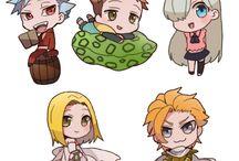 nanatsu no taizai personajes