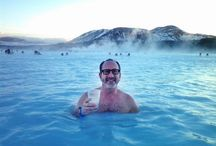 Hot springs of Iceland / Most interesting sights of attractive geothermal pools at Iceland