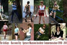 My Cosplay Collages / Various collages of my cosplays from Resident Evil, Silent Hill, Dead Space, Life is Strange and other games ladies characters :)