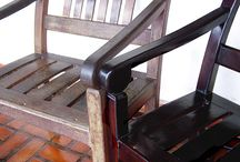 Cleaning wood chairs