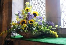 Easter floral displays