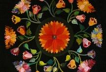 QUILTS MANDALA / Mandala quilts