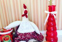 Natali Medvedeva / Отличные интерьерные игрушки ручной работы! Hand made! Порадуют вас и ваших близких! Happy doll! Sweet home! Birds