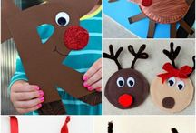 Reindeer preschool theme