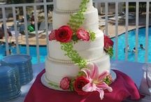 Gourmet Beach Wedding Cakes / Gourmet beach wedding cakes. Beach Bride Wedding Cakes. Beach Groom Cakes.