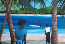Art of the Pacific Islands / Paintings / by Penelope Casey