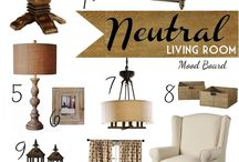 Inspiration Boards for the home