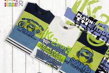 Kolekcja SOUND / Propozycja koszulek dla chłopców z kolekcji SOUND