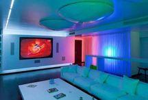 Home Theater / Conforto é o que não falta no ambiente para ver TV