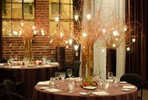 Non Floral Wedding Centerpieces /  ideas for wedding centrepieces that don't have flowers
