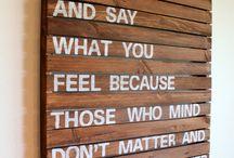 Well Said / by Meredith Aldrich Loft
